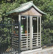Public phone booth